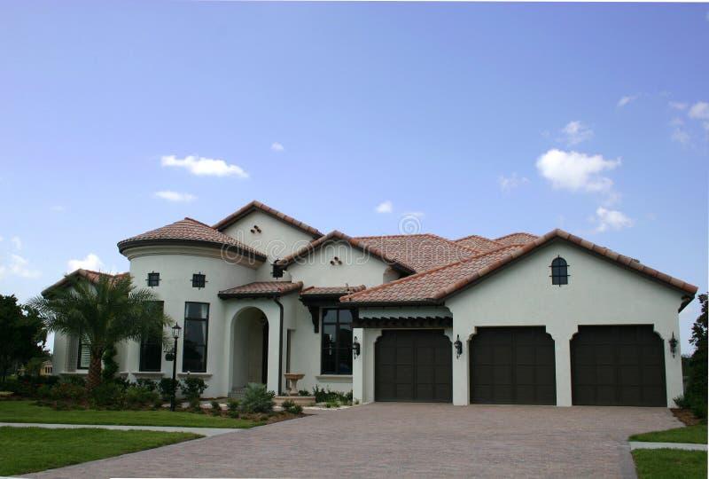 Download Spanish-type home stock photo. Image of turret, spanish - 2927834