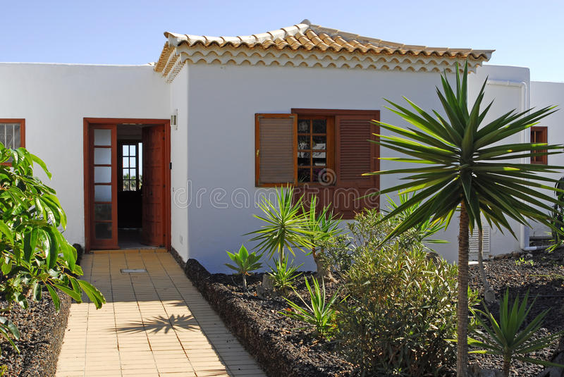 Spanish Villa Royalty Free Stock Image