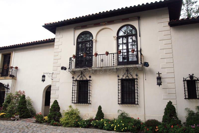 Spanish Villa stock photos