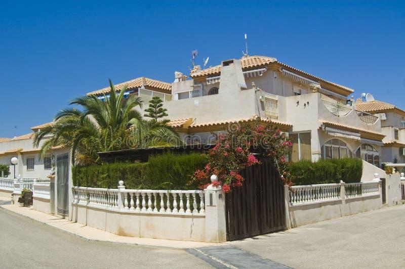 Spanish Villa stock photography