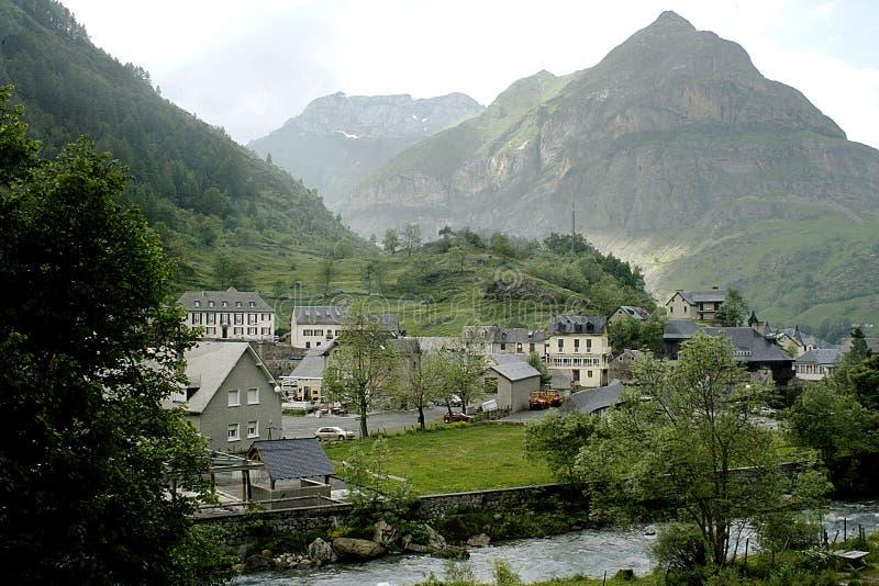 Download Spanish village stock image. Image of pyranees, spain, spring - 24309