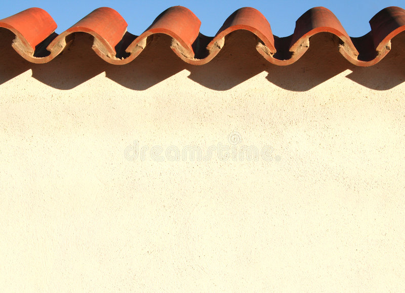 Download Spanish Wall stock image. Image of brick, sharp, isolation - 262633