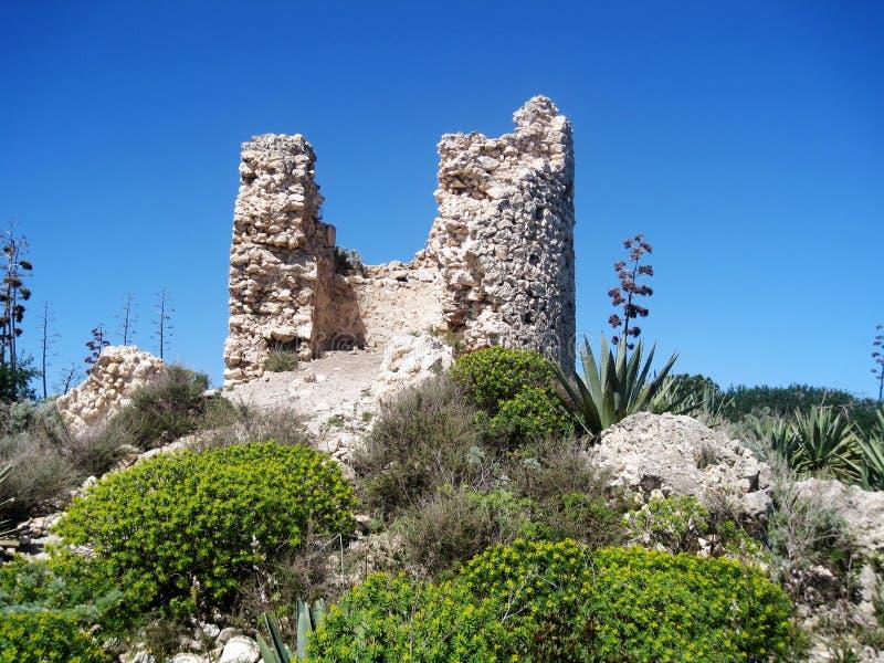 Spanish Watchtower Royalty Free Stock Image