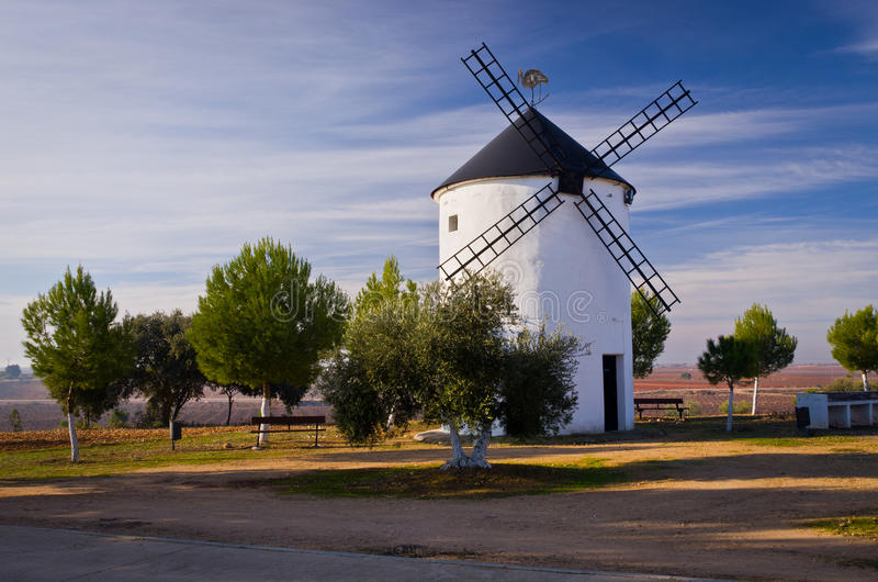 Download Spanish Windmill stock photo. Image of building, destination - 23677252