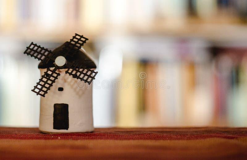 Of Spanish Windmill modelo imagens de stock royalty free