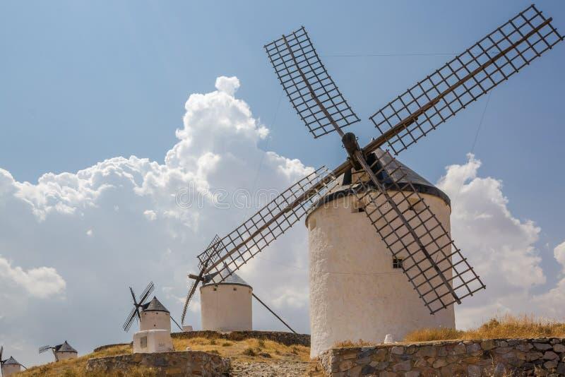 Spanish windmill royalty free stock photography