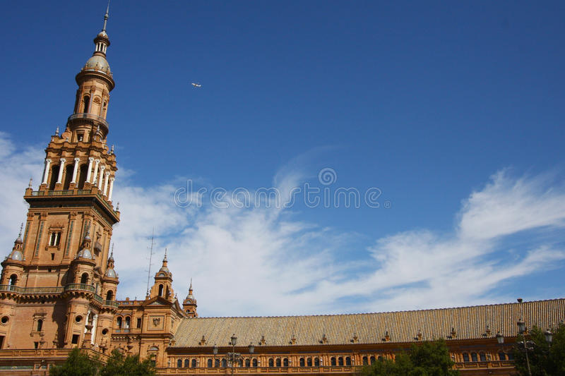 Download Spanish Wonder in Seville stock image. Image of arch - 12728339