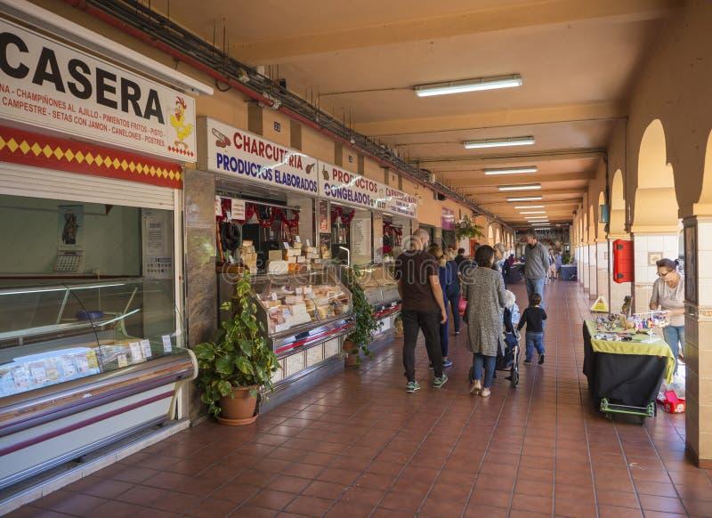 Spanje, Canarische Eilanden, Tenerife, Santa Cruz de Tenerife, Decembe stock fotografie