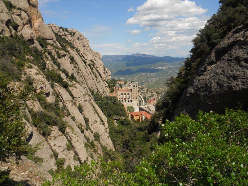 Spanje, Montserrat Valley stock foto