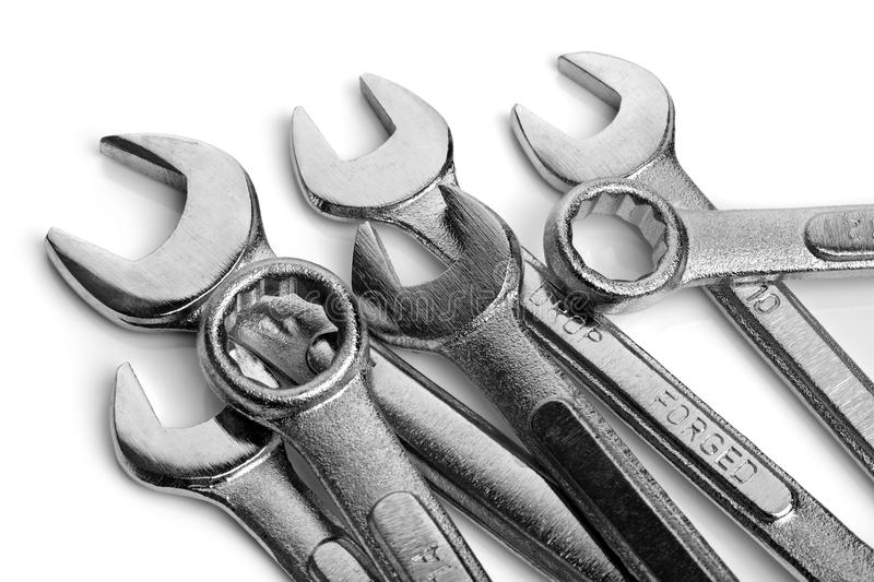 Download Spanner stock image. Image of silver, tool, steel, spanner - 21536651