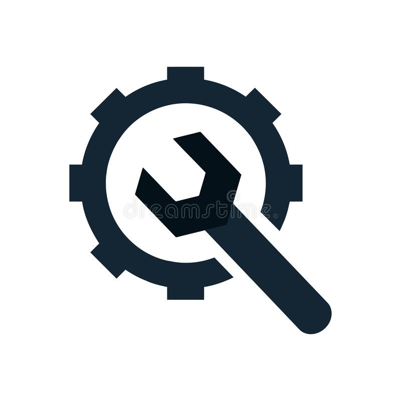 Free Spanner, Repair, Hammer, Wrench, Industry, Construction, Screwdriver, Equipment, Service, Maintenance, Ax, Gear, Work Tool Icon Royalty Free Stock Images - 146944519