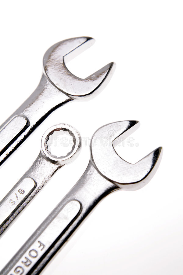 Spanners stock photography