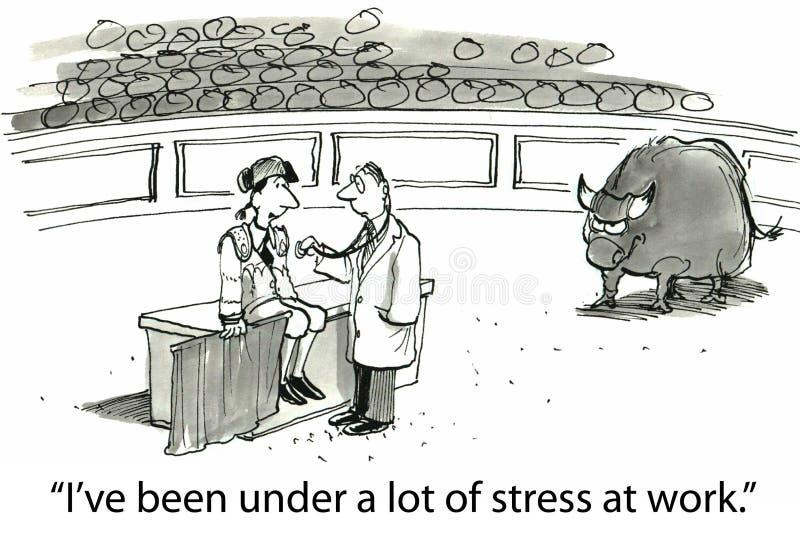 Spanning stock illustratie