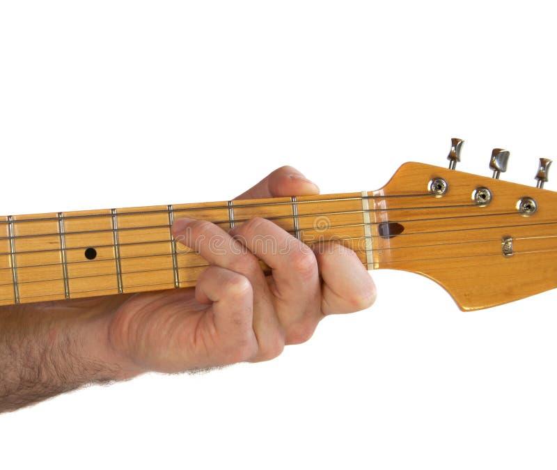Spannweite der Gitarren-C stockbilder