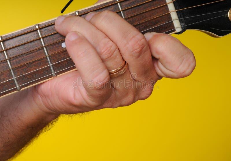 Spannweite der Gitarren-G7 lizenzfreies stockbild