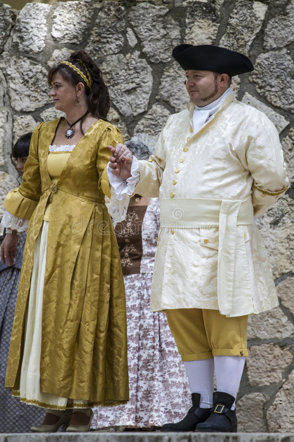 Spansk klassisk och populär dans, under beträffande-lagen av arkivfoton