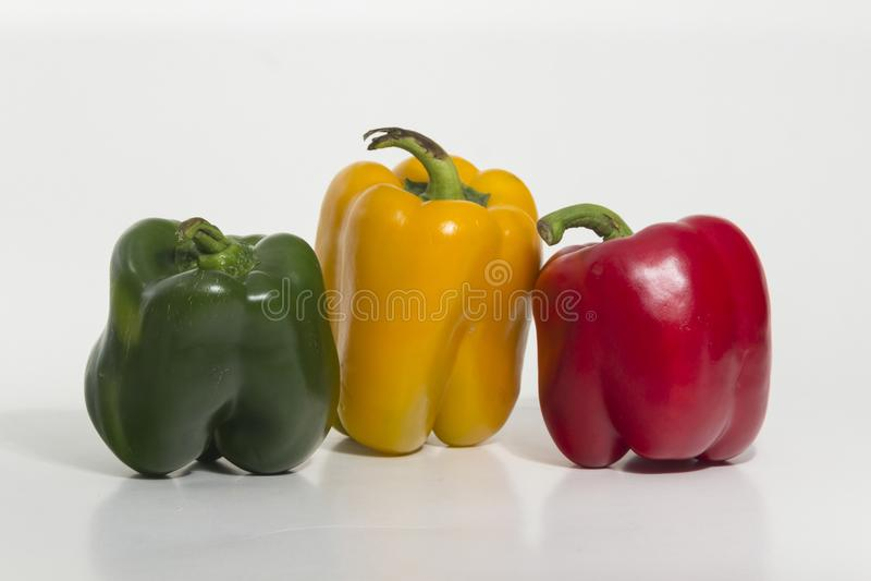 Spansk peppar söt peppar arkivfoton