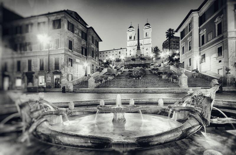 Spanska moment, Rome - Italien royaltyfri foto
