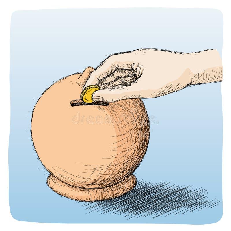 spara stock illustrationer