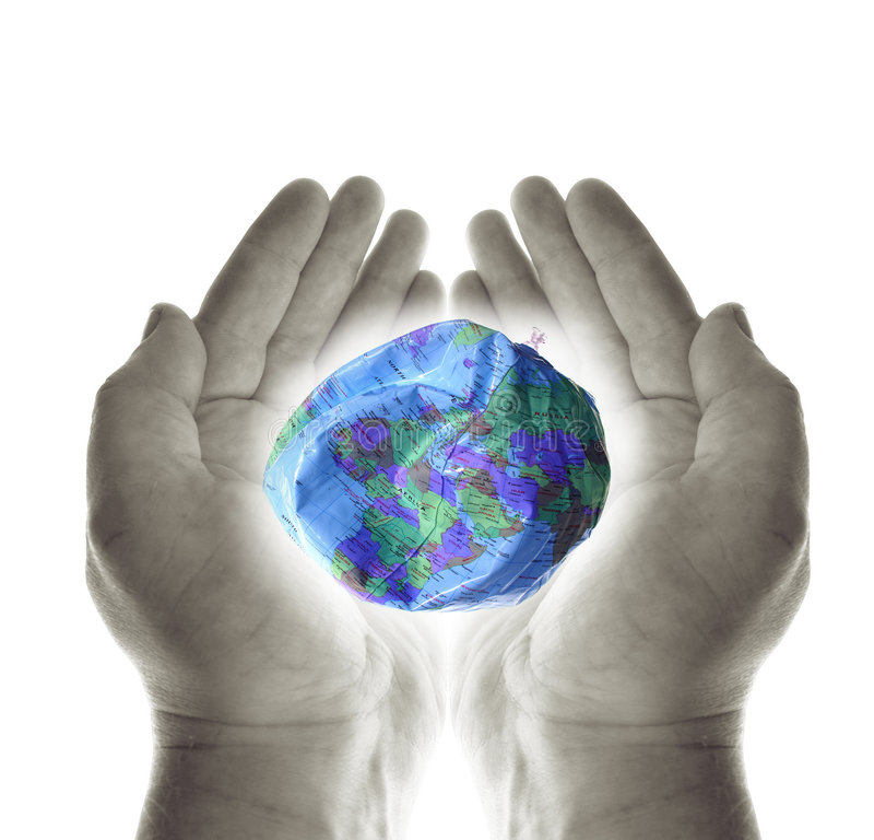 spara världen royaltyfri bild