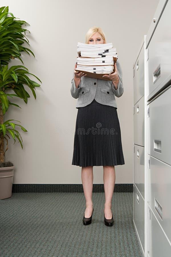 sparar sekreterare royaltyfria bilder