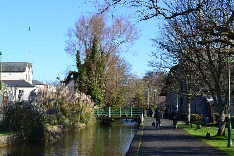 Canale di Tavistock fotografie stock