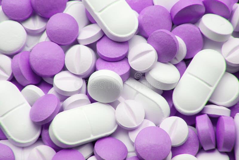Sparato delle pillole immagine stock