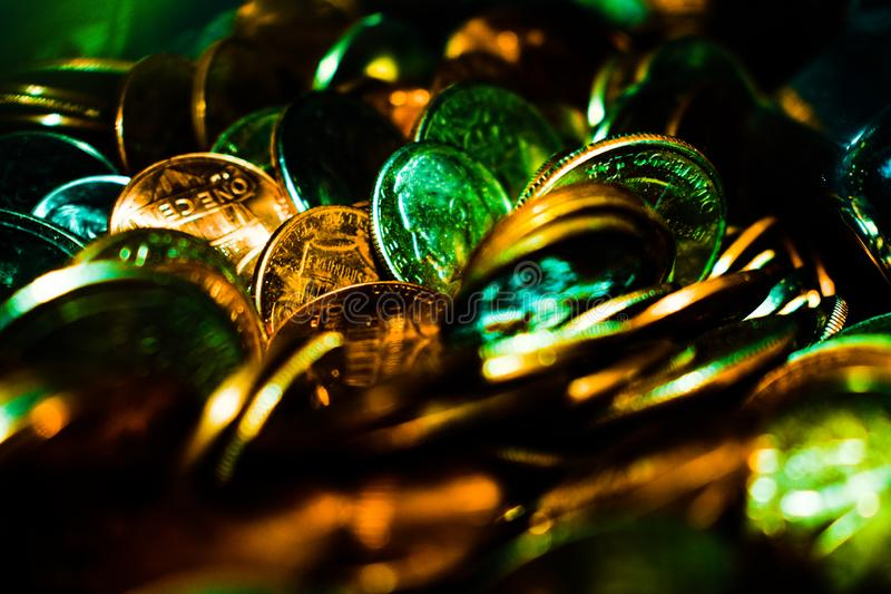 Spare Change of the Working Man royalty free stock photography