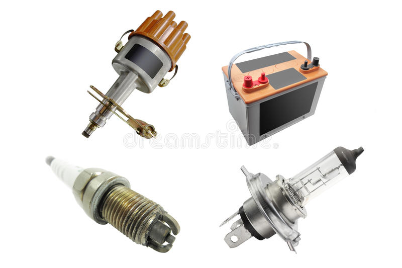 Spare parts royalty free stock photo