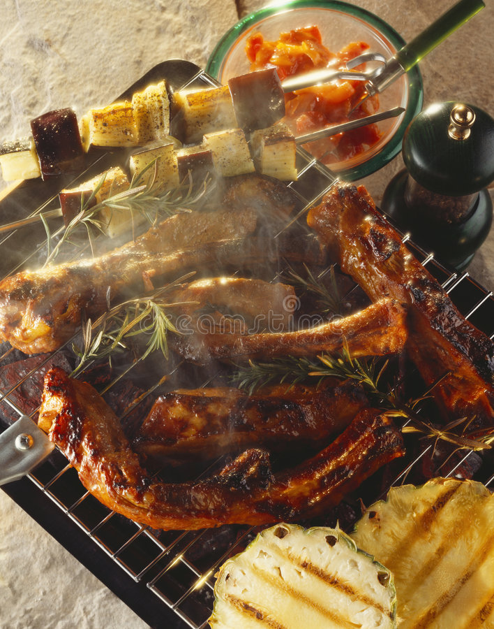 Spare-ribs royalty free stock images