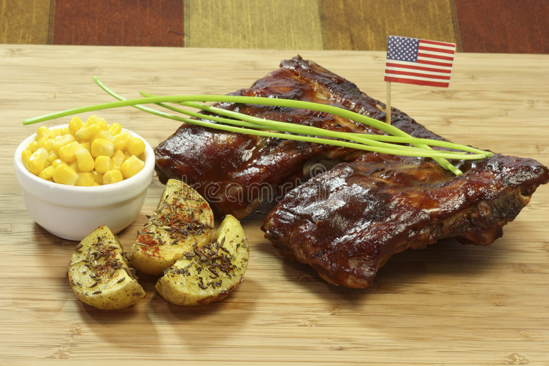 Download Spare Ribs stock photo. Image of potatoes, spare, dinner - 8647428