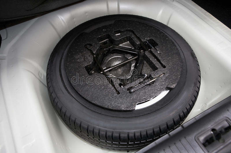 Spare tire stock photos
