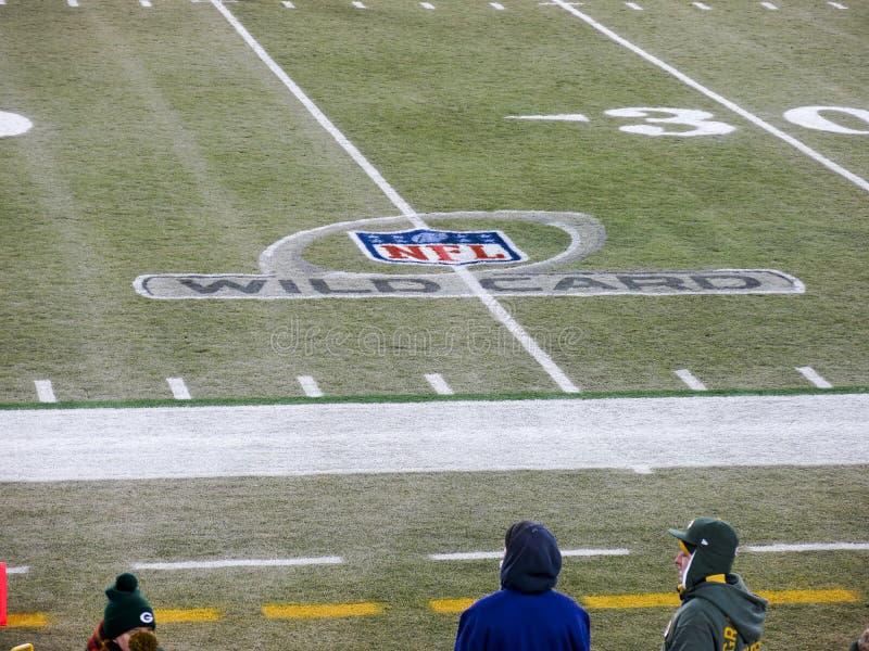 Spareggi di football americano del NFL fotografie stock libere da diritti