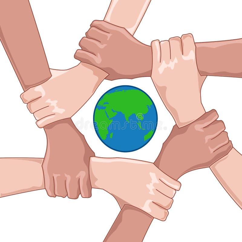Sparen aarde vector illustratie