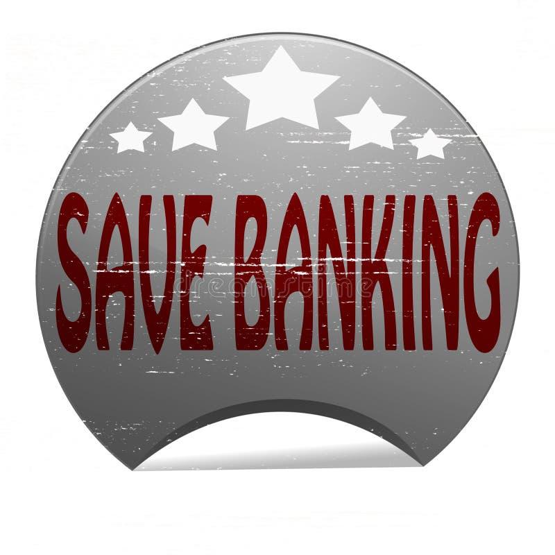 Sparen bankwezen royalty-vrije illustratie