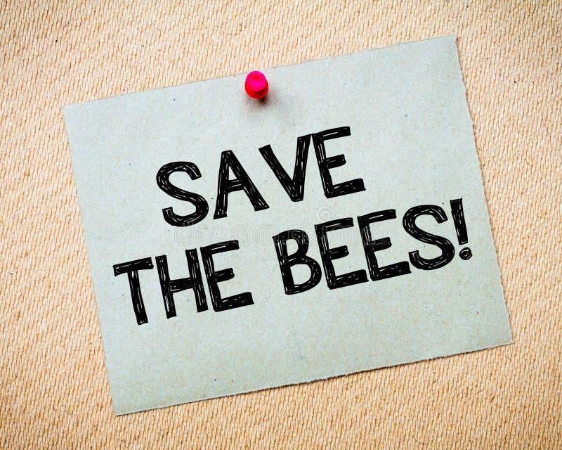 Sparen de bijen royalty-vrije stock afbeeldingen