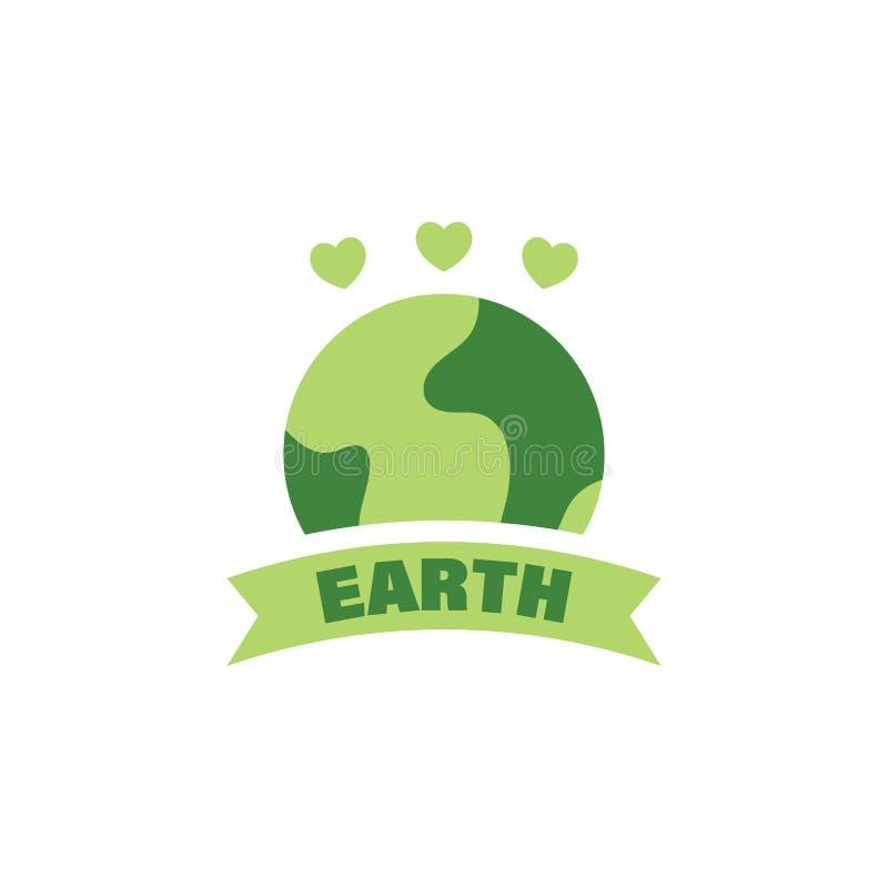 Sparen de wereld, aardedag gekleurd pictogram Elementen van sparen het pictogram van de aardeillustratie De tekens en de symbolen vector illustratie