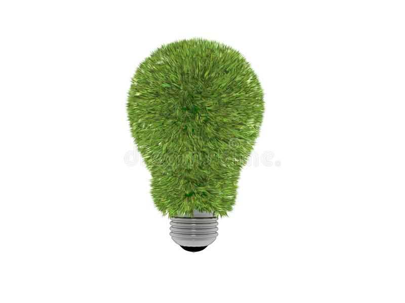 Sparen energie royalty-vrije stock afbeeldingen
