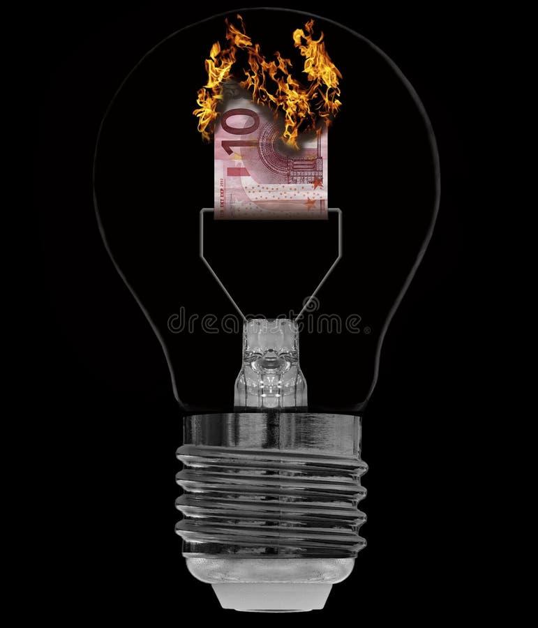 Sparen energie stock afbeelding