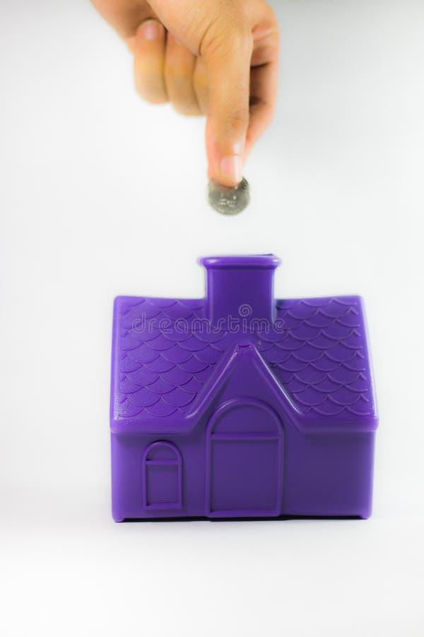 Sparen geld stock afbeeldingen