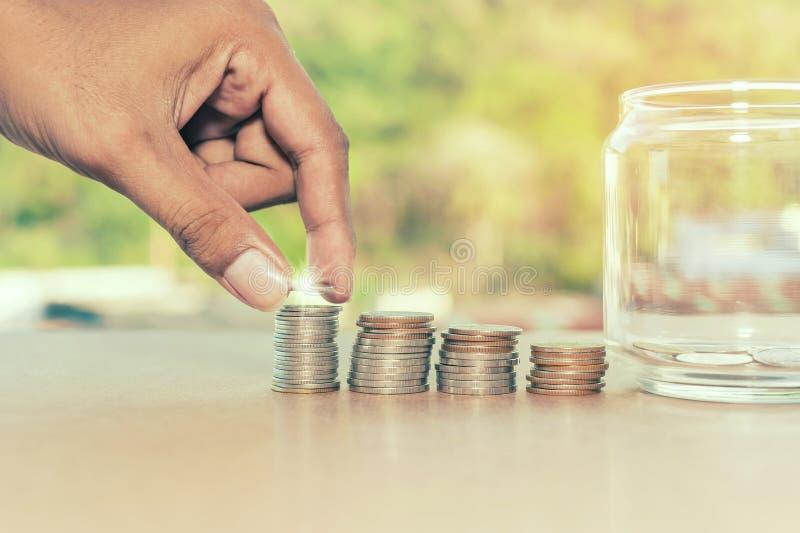 Sparen geldconcept royalty-vrije stock foto's