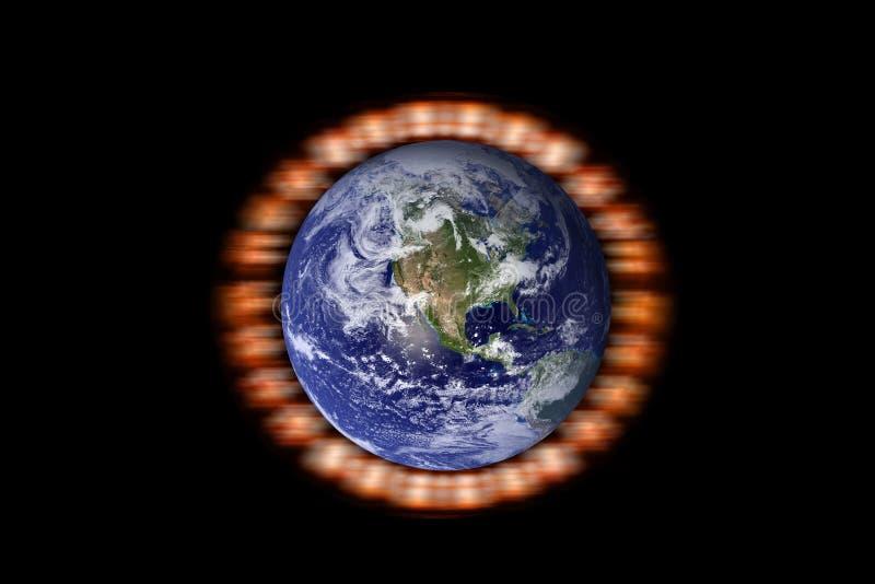 Sparen onze planeet royalty-vrije stock foto's