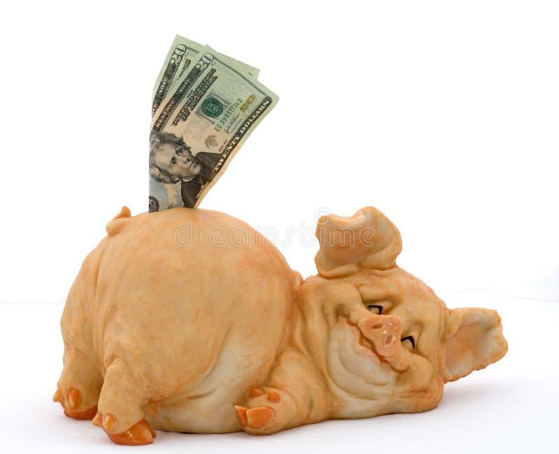 Sparen uw Geld stock afbeeldingen