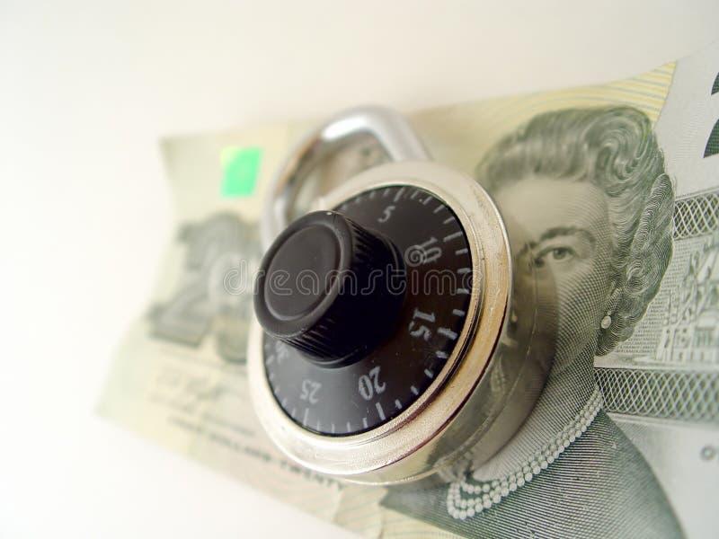 Sparen uw Geld royalty-vrije stock afbeelding