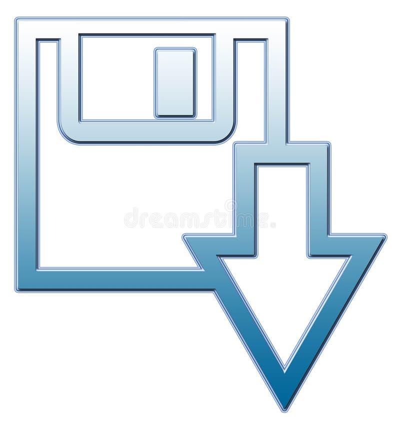 Sparen vorm vector illustratie
