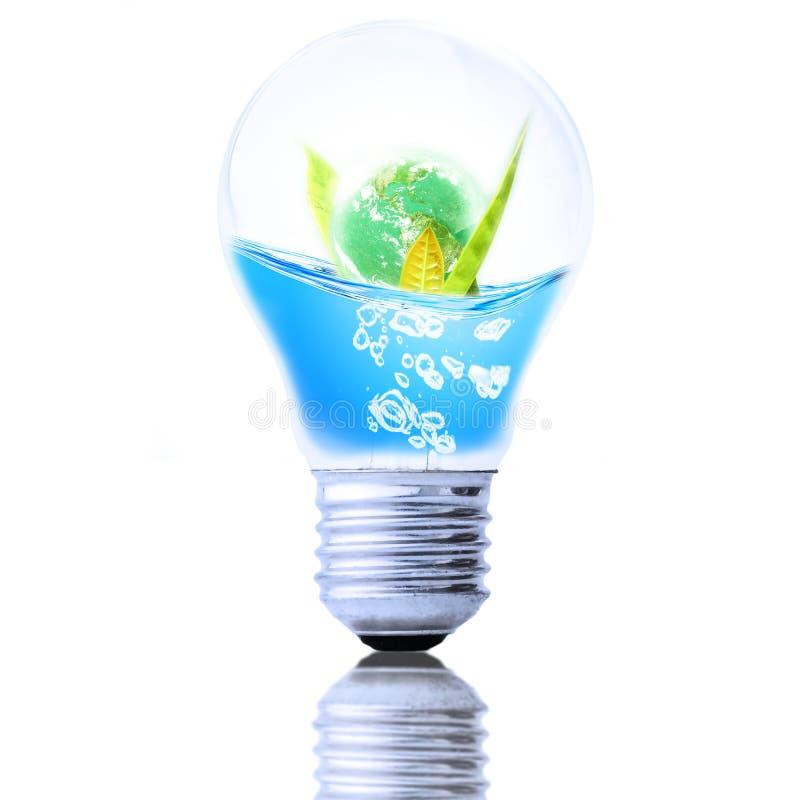 Sparen Waterconcept, sparen het Wereldconcept stock afbeelding