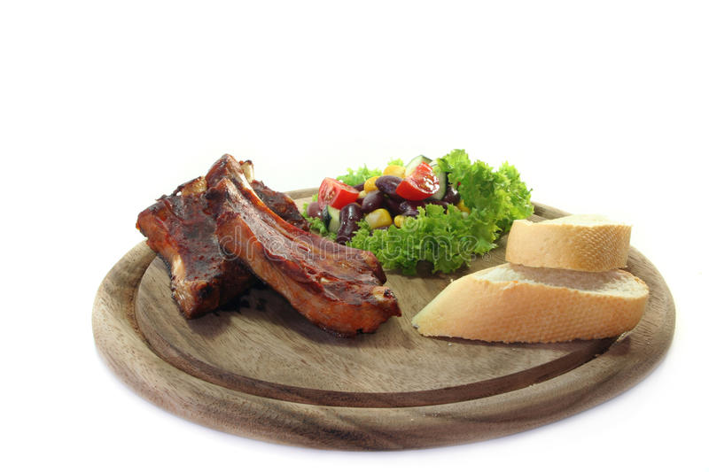 Download Spareribs stock photo. Image of kitchen, spareribs, spare - 14794478