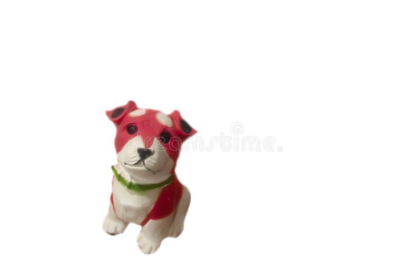 Spargris keramisk hund royaltyfri foto
