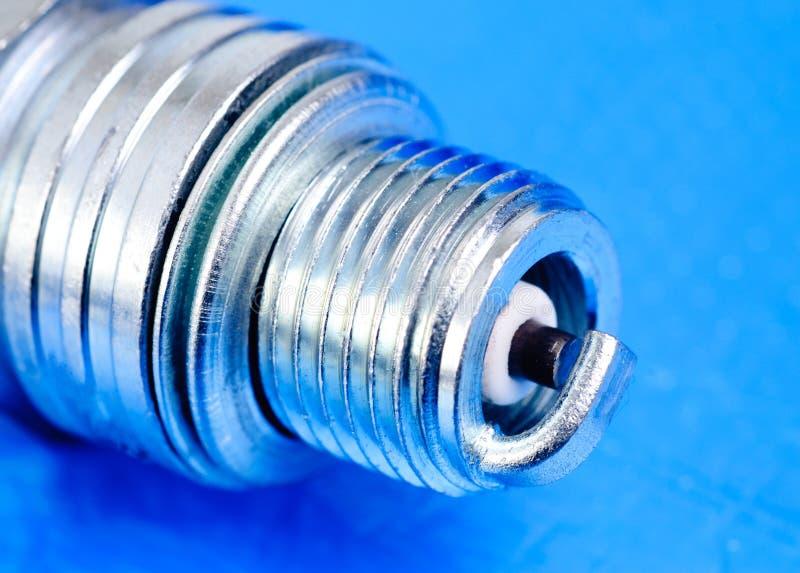 Spark-plug stock photo