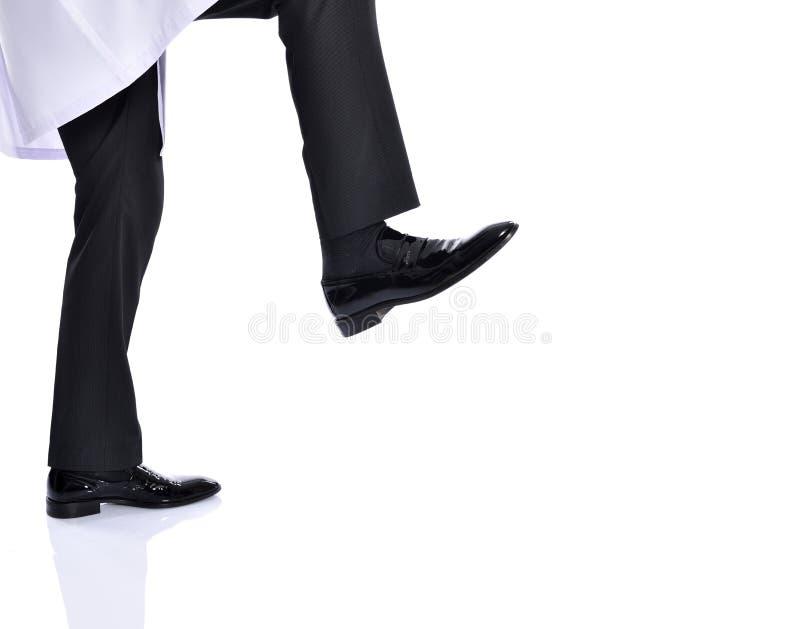 Sparka för affärsman royaltyfria foton